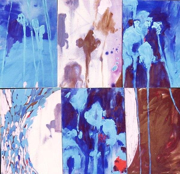 Acrylique sur toile - 2001 114 x 110 cm