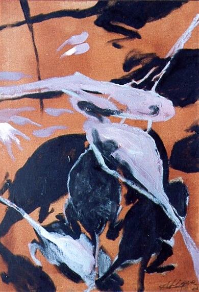 Huile sur toile - 2001 54 x 38 cm