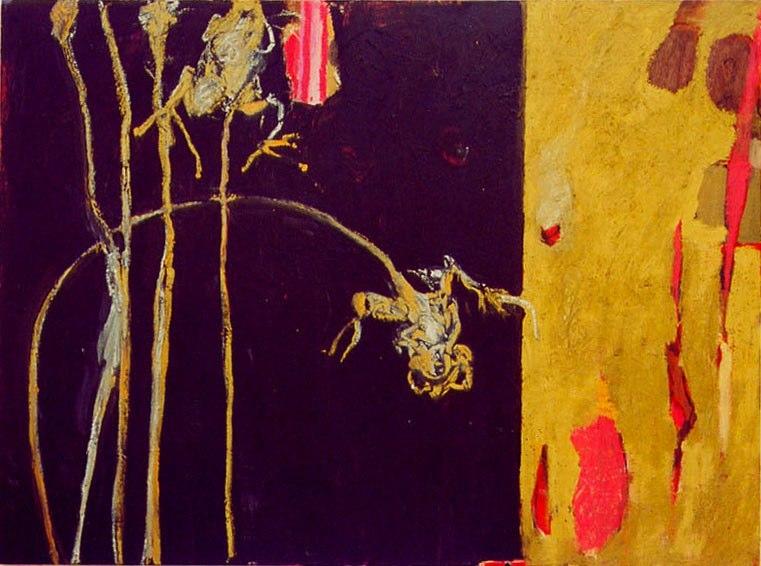 Acrylique sur toile - 2001 97 x 130 cm