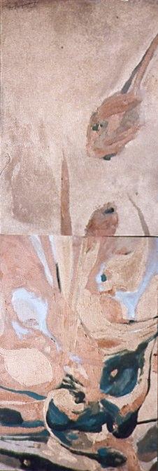 Huile sur toile - 2001 2 x 54 x 38 cm