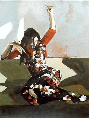 Ana I - Acrylique sur papier - 199939,2x29,9 cm