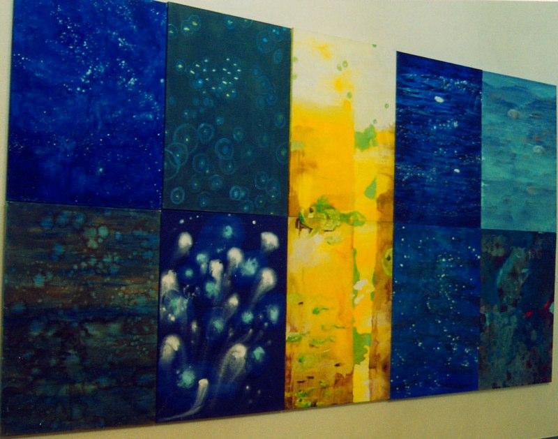 Acrylique sur toile - 2003 485x260 cm