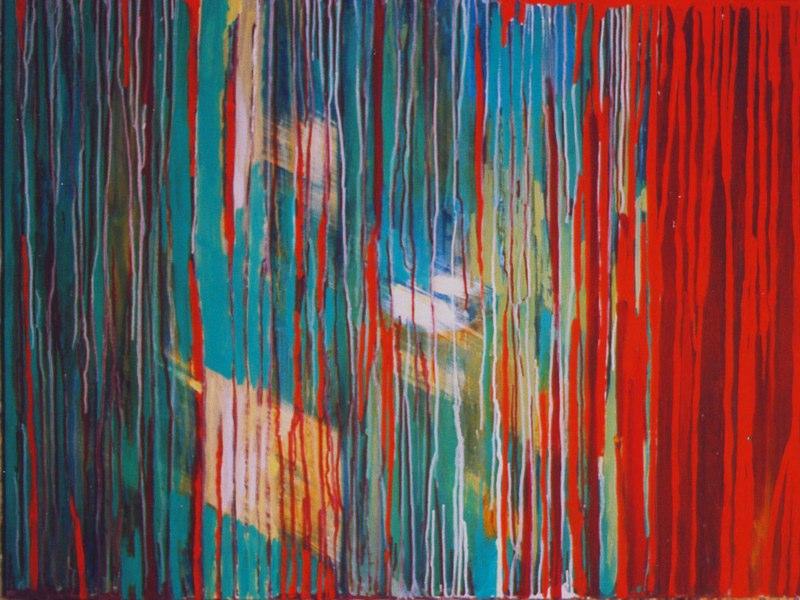 Acrylique sur toile - 2003 130x97 cm