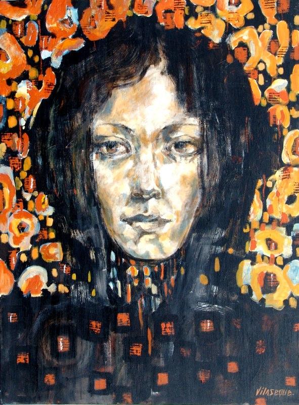 Acrylique sur toile - 2005 97x130 cm