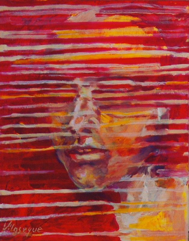 Acrylique sur bois - 2004 35 x 27 cm