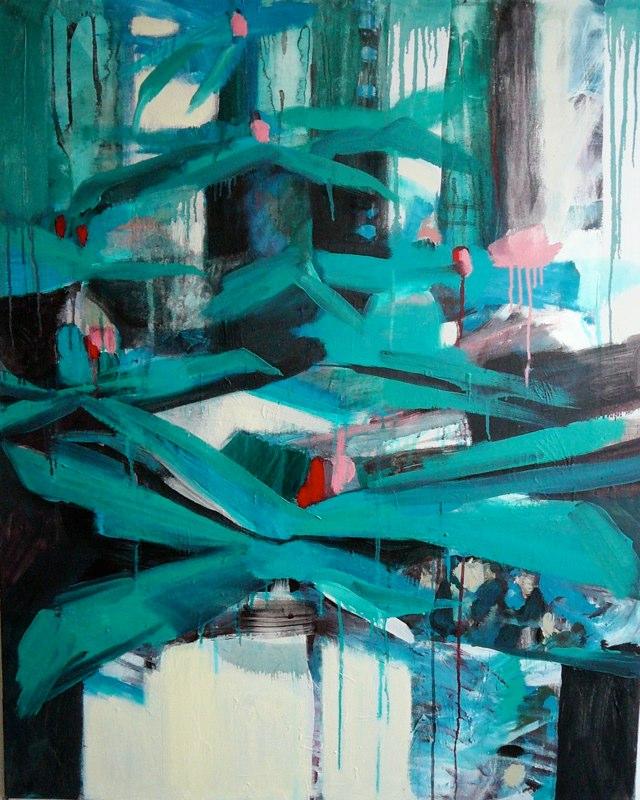 Acrylique sur toile - 2006 81x100 cm