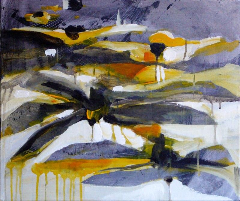 Acrylique sur toile - 2006 46x55 cm