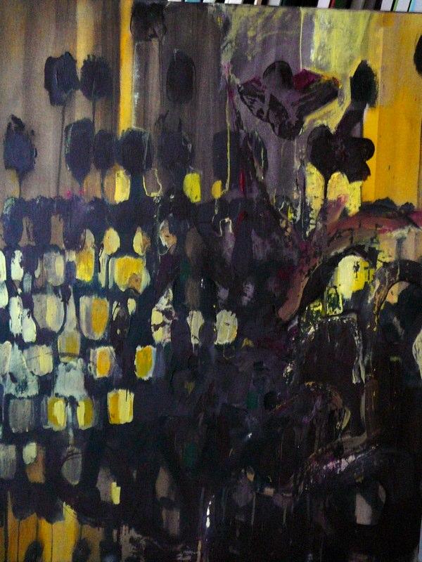 Acrylique sur toile - 2007 81x100 cm