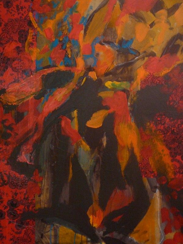 Acrylique sur toile - 2007 100x100 cm