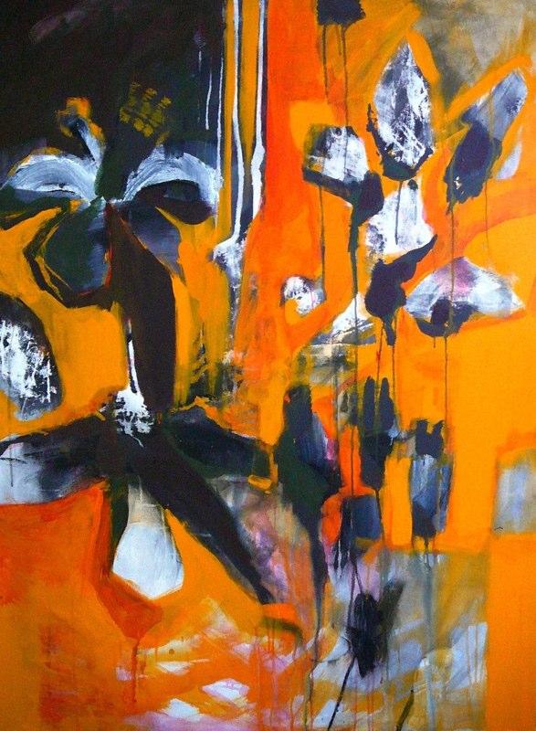 Acrylique sur toile - 2007 97x130 cm