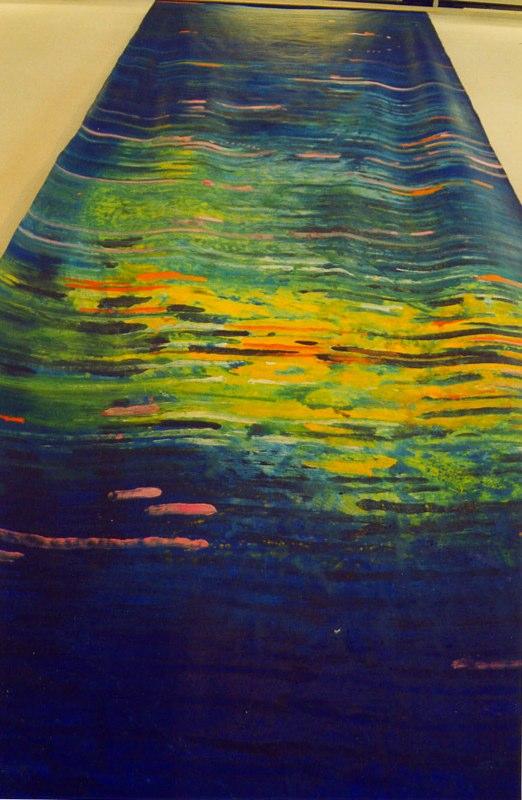 Acrylique sur toile - 2003 750x230 cm