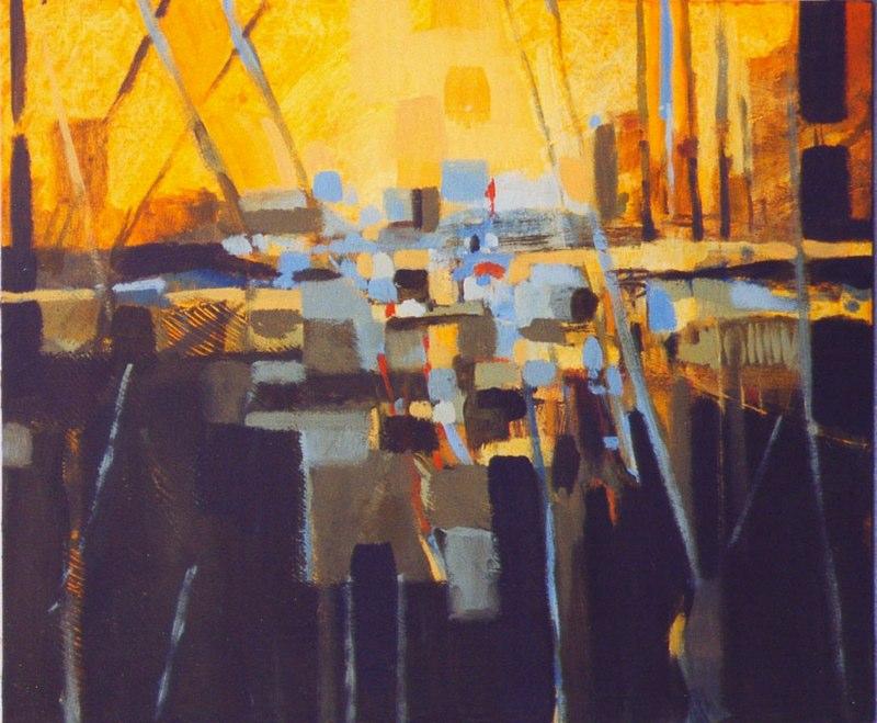 Acrylique sur bois - 2004 50 x 65 cm