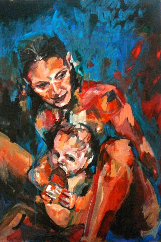 Acrylique sur toile - 2008 150x150 cm