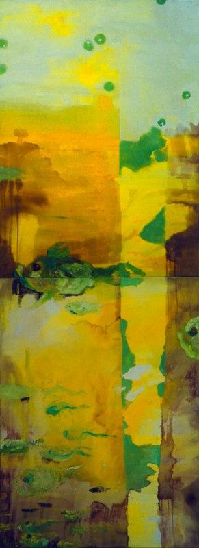Acrylique sur toile - 2003 260x97 cm