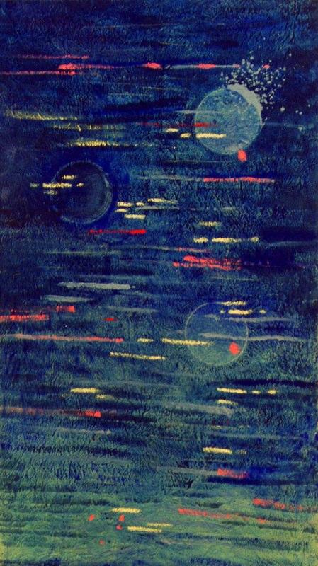 Acrylique sur toile - 2003 300x150 cm
