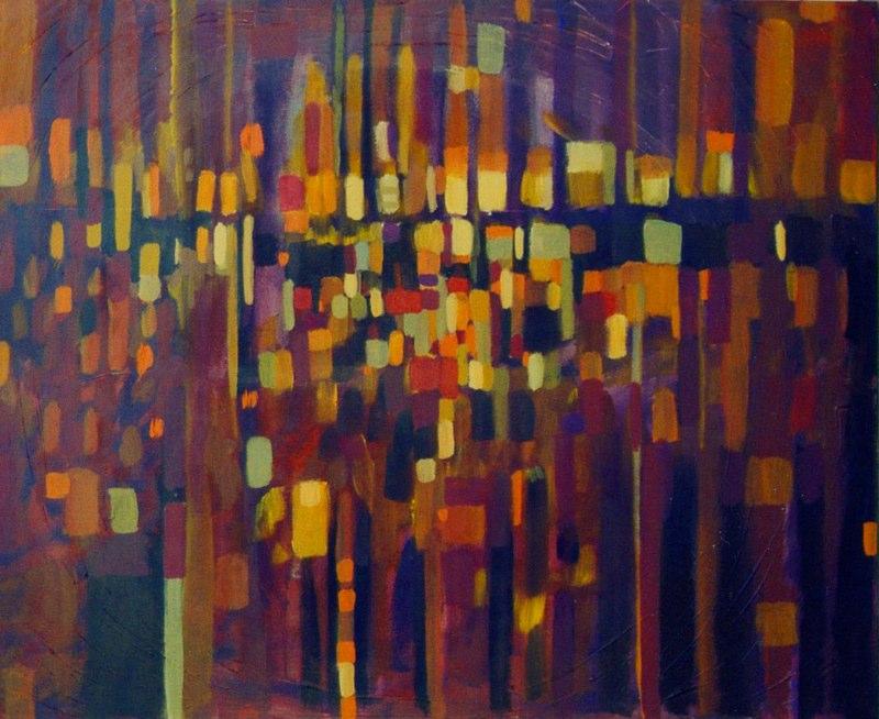 Acrylique sur toile - 2004 81 x 100 cm
