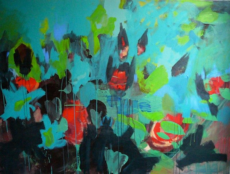 Acrylique sur toile - 2006 150x150 cm